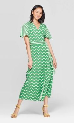Who What Wear : Dresses for Women : Target Casual Dresses, Dresses For Work, Formal Dresses, Shower Dresses, Who What Wear, New Outfits, Party Dress, Wrap Dress, Short Sleeve Dresses