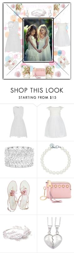 """""""sisters forever"""" by jowy2 ❤ liked on Polyvore featuring Antonio Berardi, Monsoon, Ella Carter, Tiffany & Co., Chanel and Rebecca Minkoff"""