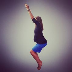 Day 5 of the @hotyogaflame balance challenge is #Utkatasana with heels off the floor. Stand on tippy toes oh so high.