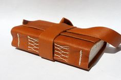 Handmade Leather Journal or Sketchbook for the by WeeBindery, $38.00