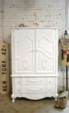 Painted Cottage Chic Shabby French Dresser / by paintedcottages