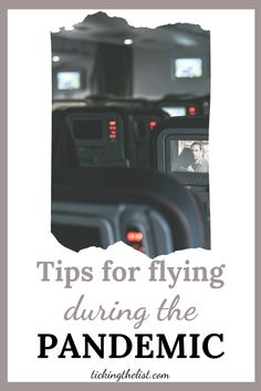 If you need to take a flight during the pandemic, it can be daunting, but with these tips, you can ensure you're still safe while flying