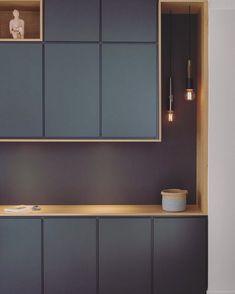 Lignes graphiques - MARION LANOE, Architecte d& et décoratrice, Lyon interiordesignkitchen Modern Kitchen Design, Interior Design Living Room, Interior Designing, Küchen Design, House Design, Graphic Design, Design Hotel, Architecture Design, Design Architect