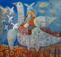 Картинки по запросу ангелы живопись фолк