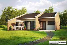 Small Brick House Design - ID 12206 - House Plans by Maramani