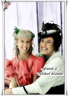 Harriet Oleson (Katherine MacGregor) & Nancy Oleson (Allison Balson)