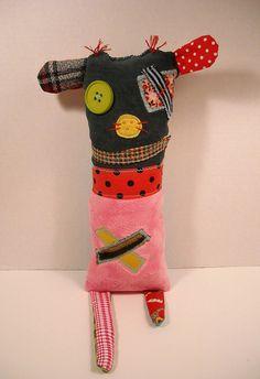 Monster Bertie | Art Doll by Junker Jane