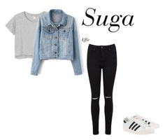 ideal type (suga) by effie-james on Polyvore featuring art, simple, kpop, korean, bts and Suga