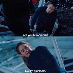 Divergent memes, funny pictures, photos of the cast, including Shailene Woodley and Theo James. Divergent Memes, Divergent Tris, Tris Et Tobias, Divergent Hunger Games, Insurgent Quotes, Theo Theo, Theo James, Film D'action, Film Serie