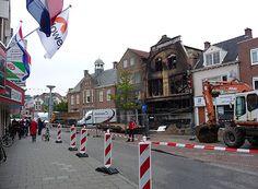Ljouwert / Liwwaden / Lienward / Leeuwarden - Huizum → Hiertegenover (dus links) ging Sander naar de beugel tandarts.