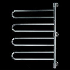 Image of Swivel Towel Warmer With 4 looped rails
