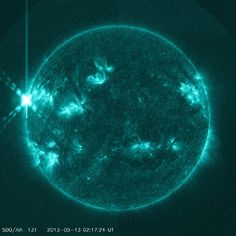 Spectacular solar storms