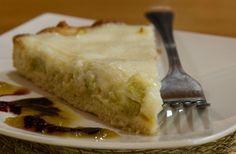 Kuchen de ruibarbo - Patagonia por Descubrir