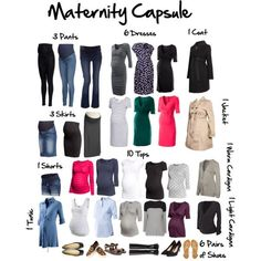 Maternity Capsule Wardrobe by jensmith1228 on Polyvore featuring H&M, ESPRIT, Isabella Oliver, Topshop, Old Navy, Crave Maternity, Cole Haan, London Rebel, MANGO and Mama.licious