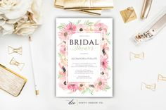 Bridal Shower Invitation Bridal Shower Invite by DuffyDesignCo