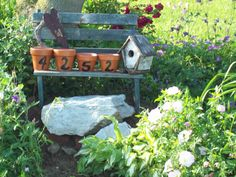 Don't have a green thumb? ~ repurpose those flower pots!     @ home
