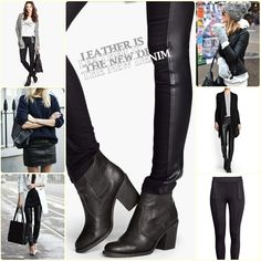 Leather for autumn