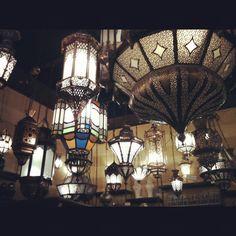 Ceiling of lights, Madinah, Saudi Arabia, KSA Moroccan Design, Moroccan Decor, Arabian People, The Beautiful Country, World Market, Mecca, Saudi Arabia, Islamic Art, Middle East
