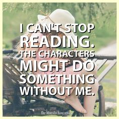 I Can't Stop Reading - Writers Write