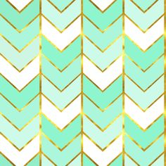 Gilded Ombre Herringbone in Mint fabric by sparrowsong on Spoonflower - custom fabric