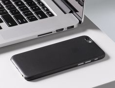 It adds extra grip, protects your iPhone from everyday wear, and is so slim it easily slips in and out of your pocket.