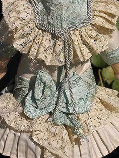 French Silk Doll Dress Hat for Antique Dolls   eBay