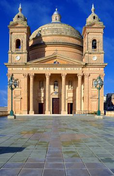 Mgarr Church | Malta (by albireo2006)
