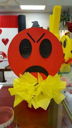 Emoji birthday party centerpieces