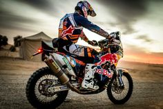 Toby Price 2016 Dakar Rally Champion. After a near death crash 2 years previous in a desert race in the USA
