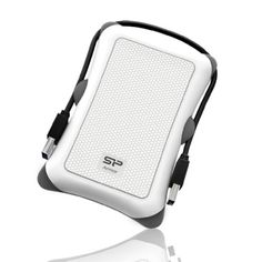 Black Friday 2014 Silicon Power 1TB Rugged Armor A30 Military Shockproof Standard 2.5-Inch USB 3.0 External Portable Hard Drive - White (SP010TBPHDA30S3W) from Silicon Power Cyber Monday