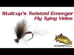 Stalcup's Twisted Hackle Emerger Fly Tying Video Instructions