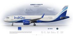 https://flic.kr/p/MyekDr | Airbus A320neo IndiGo VT-ITC | www.aviaposter.com