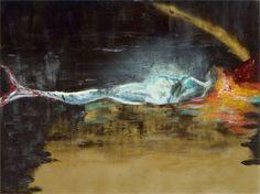 Mermaid - oil on canvas  Elvira van Bochove www.elviravanbochove.nl