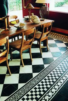 Castelo handmade Tiles - www.castelo-tiles.com - Classic-20x20cm -1017-1006-9020ZW-9009ZW-9005ZW-9007ZW®