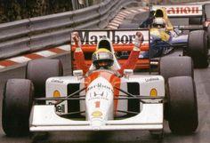 Ayrton Senna, McLaren-Honda MP4/7A, 1992 Monaco GP, Monte Carlo