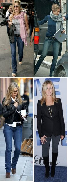 Sexy casual from Jen...like this a lot.  Styling Up and Getting Out of Your Rut
