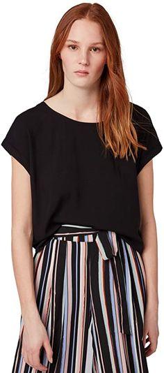 Bekleidung, Damen, Tops, T-Shirts & Blusen, T-Shirts Toms, Shirt Bluse, Tom Tailor, Casual Shorts, Fashion, Summer, Clothing, Women's, Moda