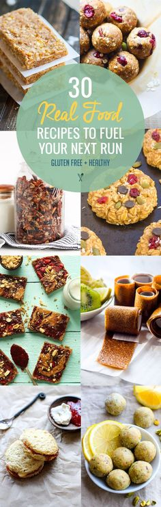 30 Real Food Gluten Free Recipes to Fuel Your Next Run or Workout