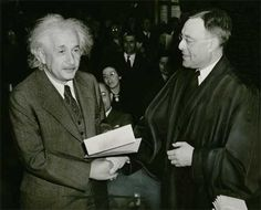 Albert Einstein's United States Citizenship: - http://www.aboutalberteinstein.com/albert-einsteins-united-states-citizenship/