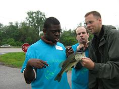 """Another """"first fish"""" moment with Pursuing a Dream - Get Hooked 2014"""