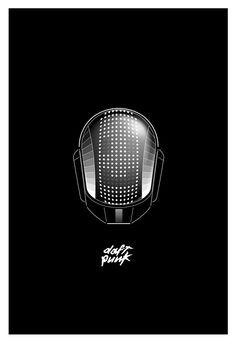 "anthonyodu: ""Daft Punk Helmet. """