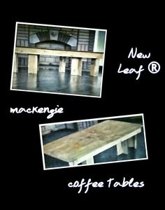 New Leaf Custom Coffee Tables™