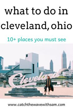 A Perfect Day in Cleveland, Ohio - catch the wave Map Of Cleveland Ohio, Cleveland Rocks, Best Places To Travel, Cool Places To Visit, Ohio Attractions, Walking Map, Columbus Travel, Visit Belgium, Youngstown Ohio