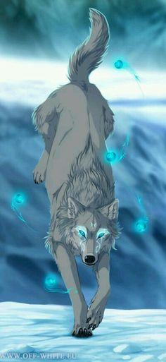 Off-White comic wolf Iki Wolf Spirit, Spirit Animal, Fantasy Wolf, Fantasy Art, Off White Comic, Alpha Wolf, Wolf Wallpaper, Wallpaper Wallpapers, Wolf Pictures