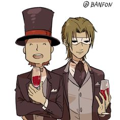 Quick question. Why does Decole look like Edgeworth?