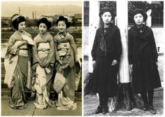 Japan  What young people looked like 100 years ago