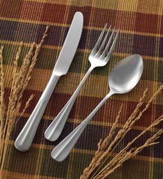 ITI European Dinner Fork 18/0 SS - IFBA-229 Case Pack: 1 Dozen  European Dinner Fork, 18/0 stainless steel, Baguette