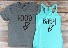 Pregnancy Announcement Shirt/ Couple Pregnancy Announcement/