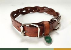 leather braided dog collar, handcrafted in cape town – hunter bennington Leather Dog Collars, Selling Online, Dog Life, Fur Babies, Kittens, Belt, Cape Town, Braid, Dogs