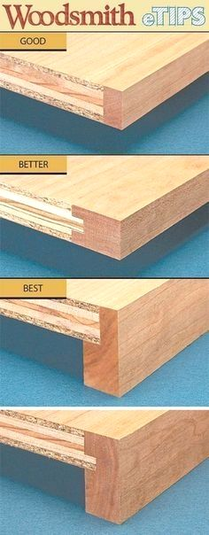 """""""Build Super Strong Shelves"""" (from plywood but with concealed edges). #WoodworkingProjects"""